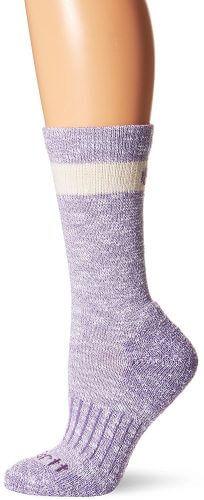 5. Carhartt Women's Merino Wool Blend Hiker Crew Socks
