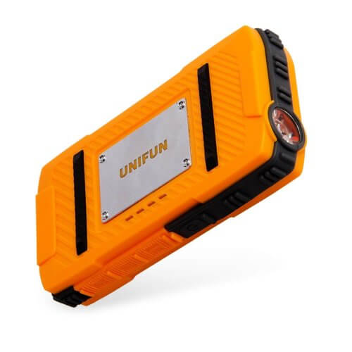 3. Unifun 10400mAh Waterproof External Battery Power Bank Charger