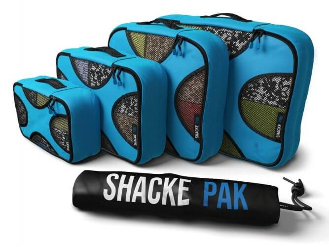1. Shacke Pak - Packing Cubes 4 set