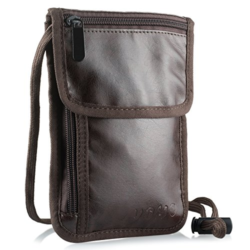 9. YOMO -Vegan Leather Passport Holder