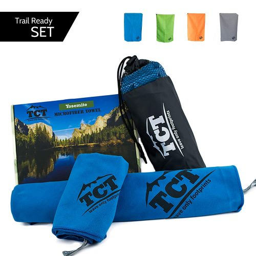 8. The Camping Trail Travel Towel