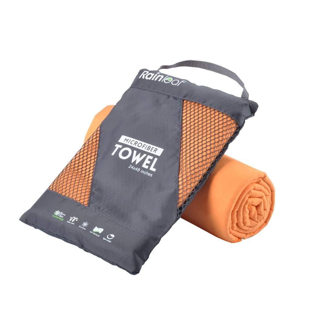 2. Rain Leaf Microfiber Towel