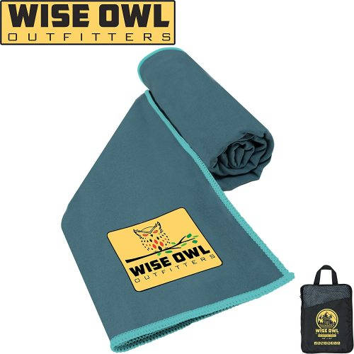 4. Wise Owl Outfitters Camping Towel
