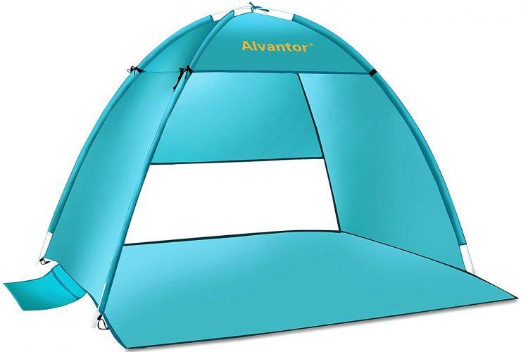 9. Alavantor UPF 50+ Beach tent