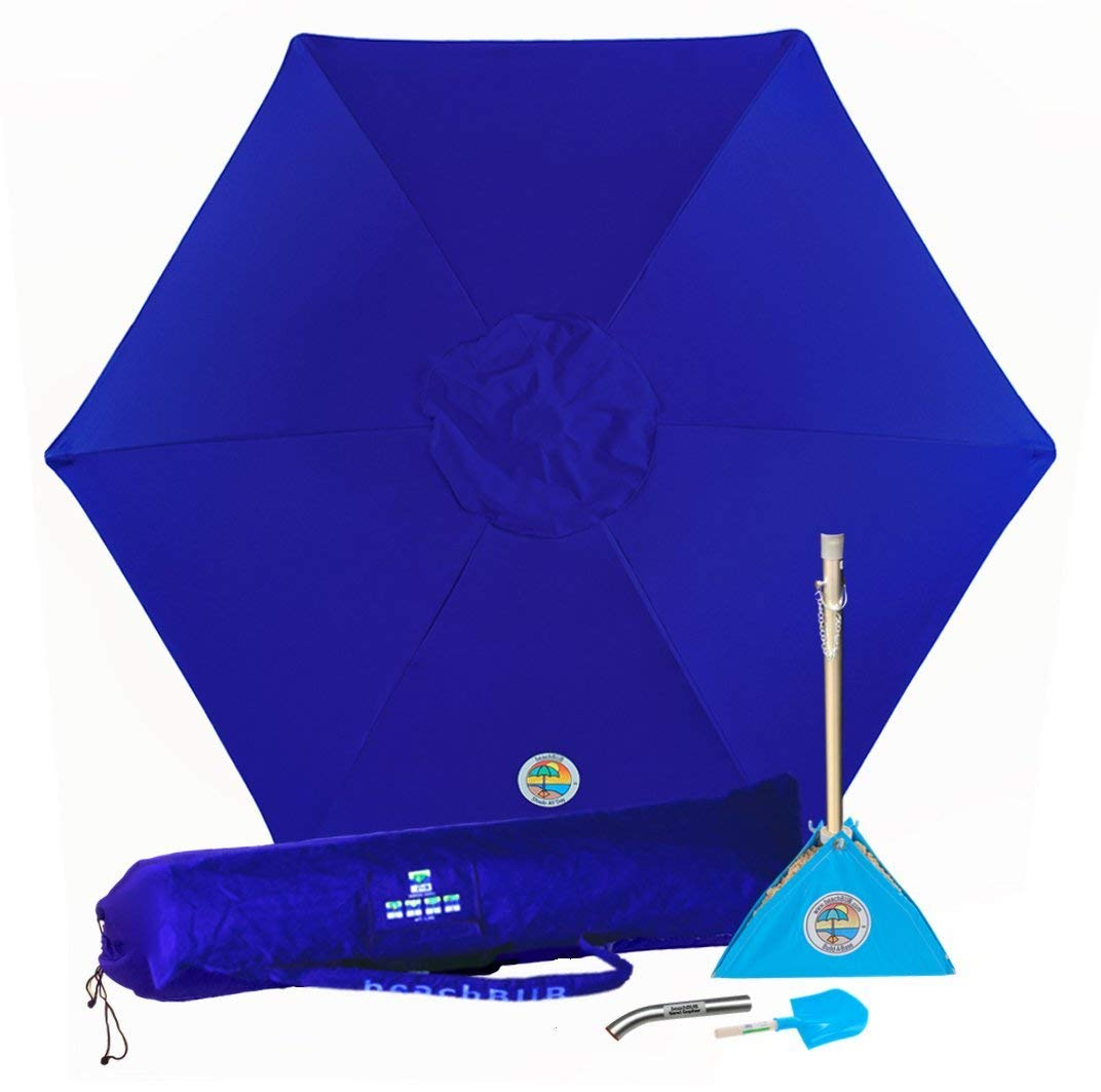 1. BEACHBUB All-in-One Beach Umbrella System