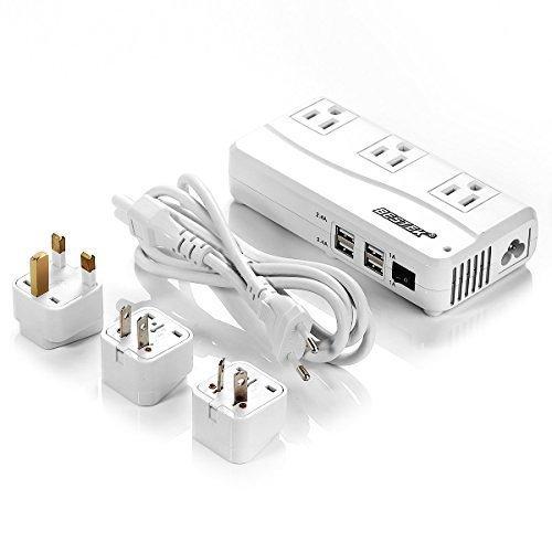 2. BESTEK Universal Travel Adapter/ Converter