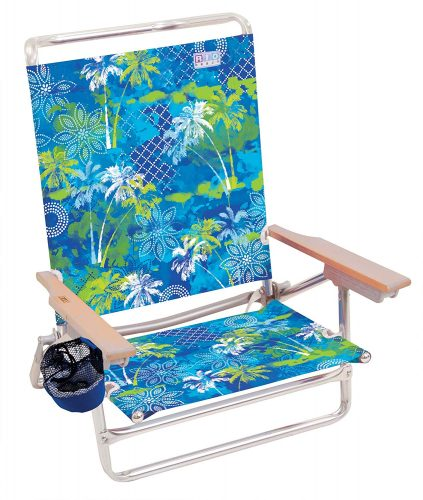 8. RIO BEACH Classic 5 Position Lay Flat Folding Beach Chair