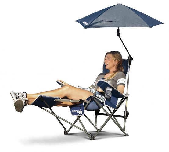 3. Sport-Brella 3-Position Recliner Chair
