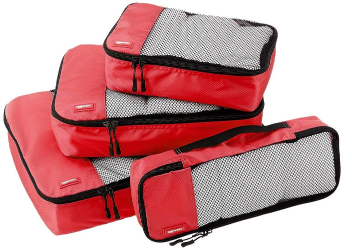 6. AmazonBasics Packing Cubes - 4 set
