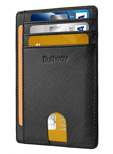 3. Buffway Slim Front Pocket Wallet