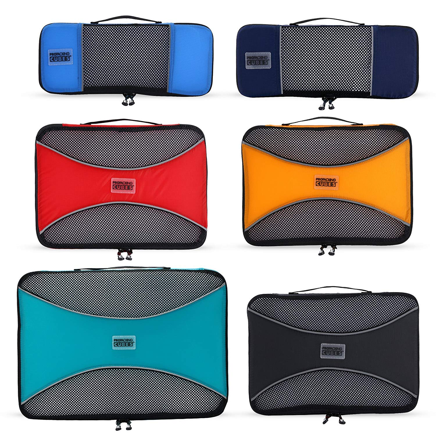 5. Pro Packing Cubes - 6 set