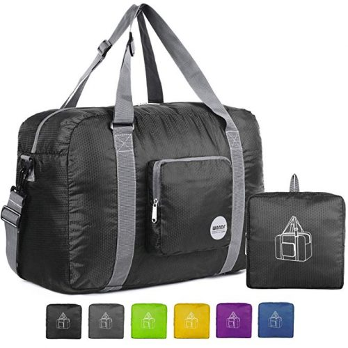 Travel Luggage Duffle Bag Lightweight Portable Handbag Basket Weave Large Capacity Waterproof Foldable Storage Tote