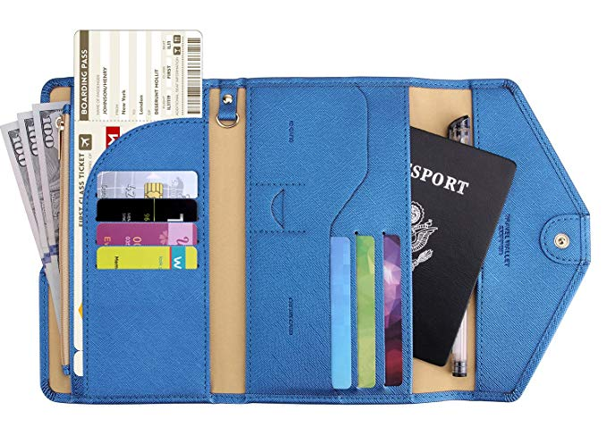 1. Zoppen RFID Blocking Travel Wallet