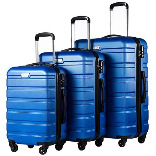 3. Coolife Luggage 3 piece Set