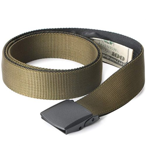 3. JASGOOD Travel Security Money Belt