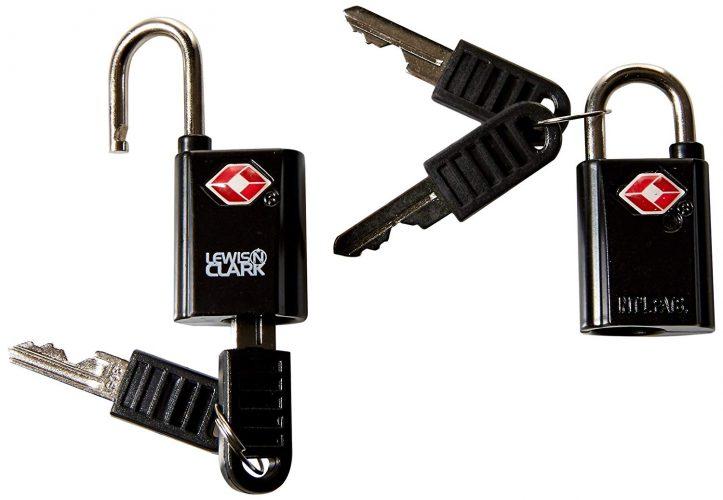 3. Lewis N. Clark Travel Sentry TSA-Approved Lock