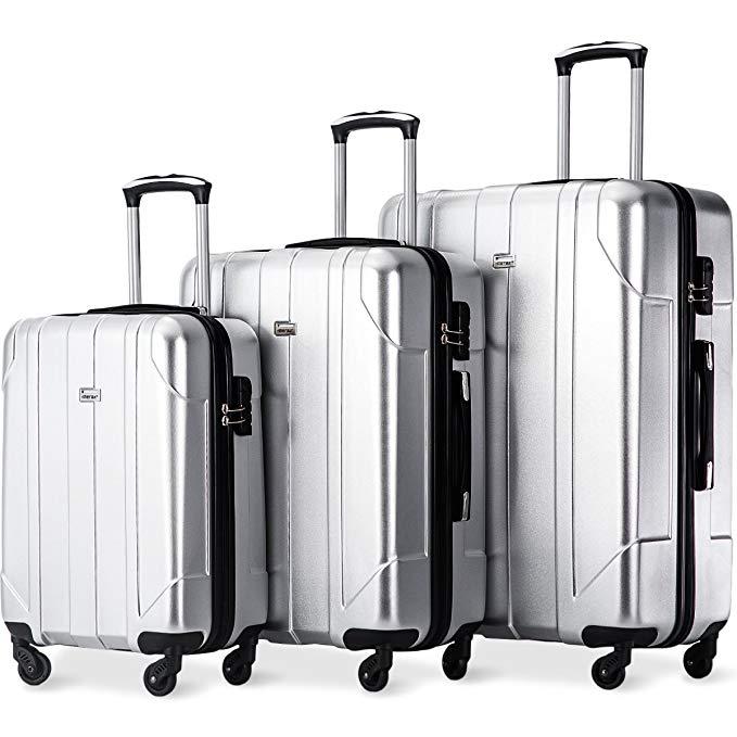 6. Merax Luggage 3 Piece Set
