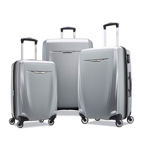 4. Samsonite Winfield 3 DLX Hardside Spinner Set