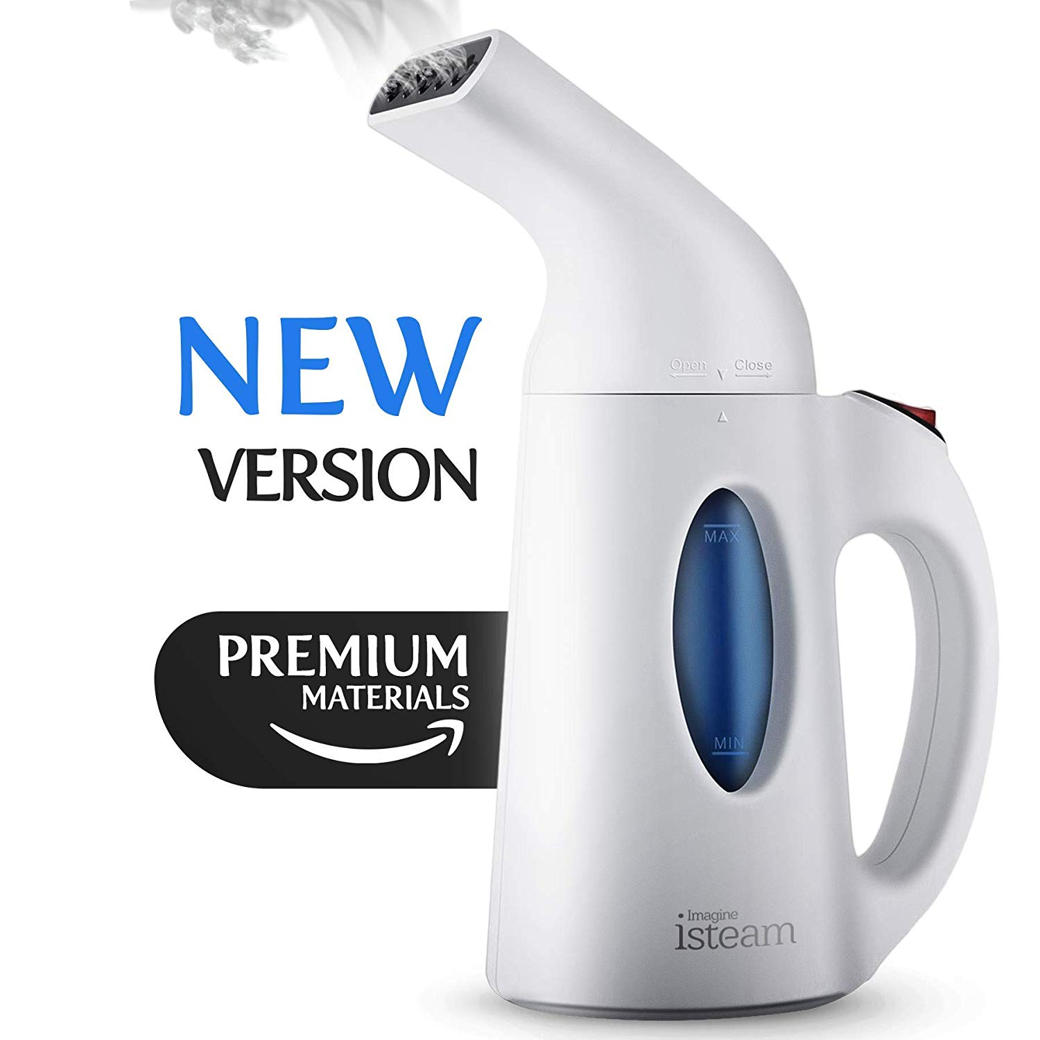 1. iSteam 2019 Handheld Steamer for Clothes
