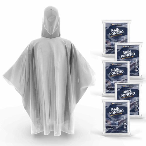 10. Hagon PRO Disposable Rain Poncho