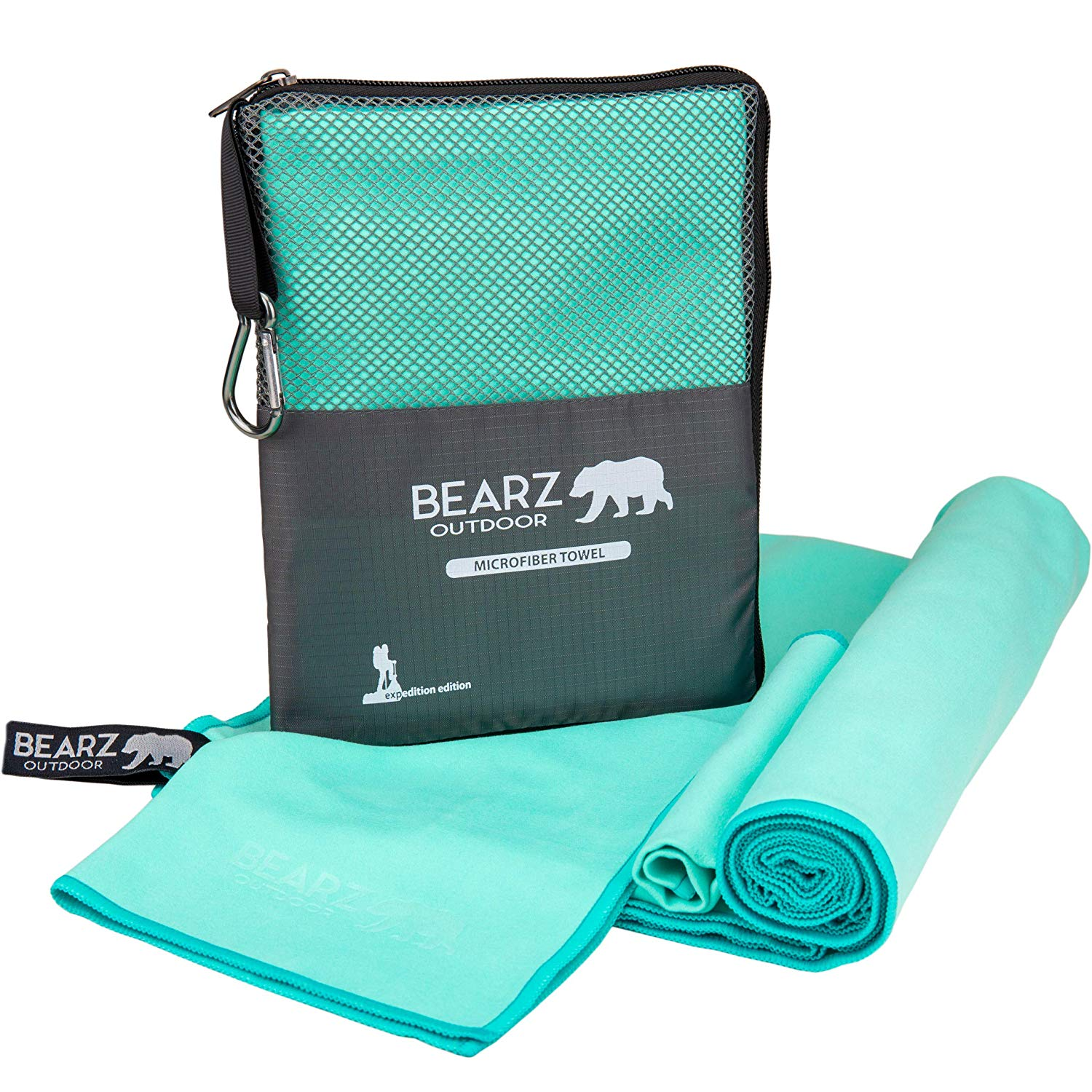 7. BEARZ Outdoor Microfiber Towel