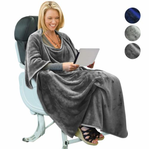 4. Tirrinia Portable Travel Blanket