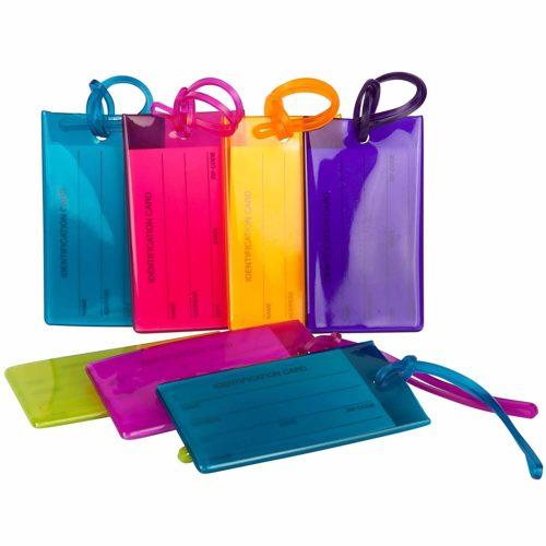 6. TravelMore Luggage Tags