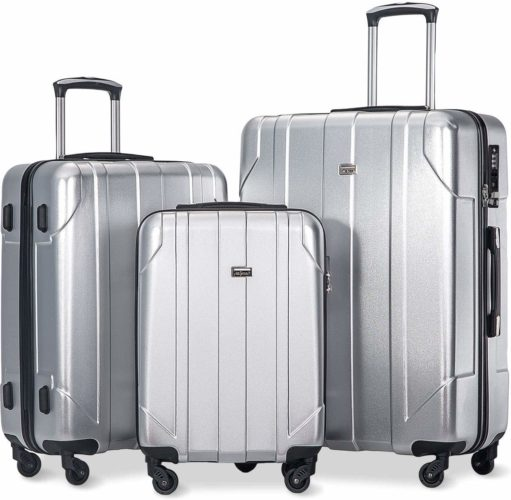 7. Merax Luggage 3 Piece Set