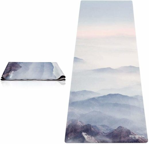7. YOGA DESIGN LAB Travel Yoga Mat