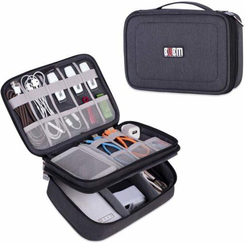 9. BUBM Electronic Cord Organizer