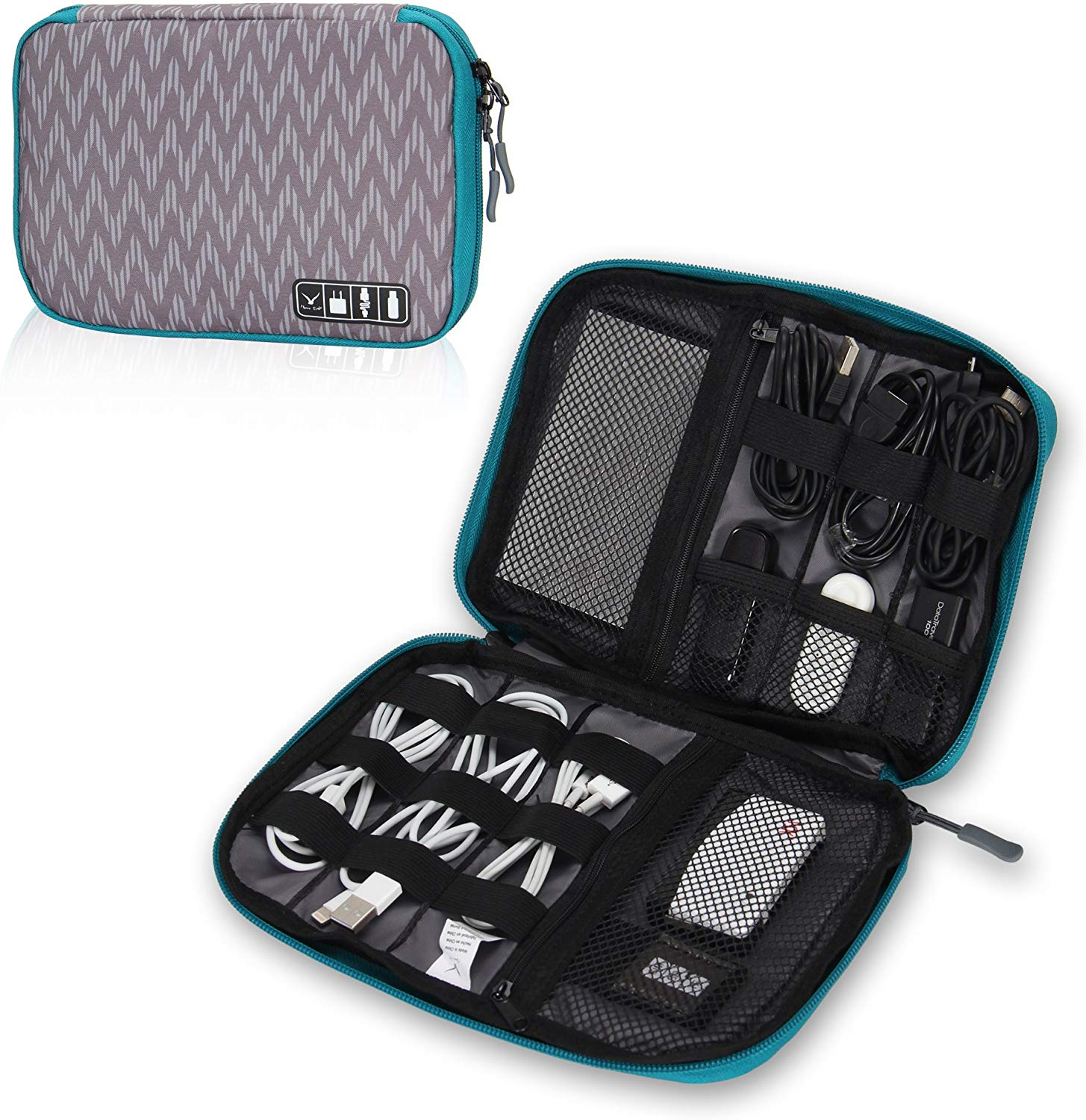 6. Hynes Eagle Travel Universal Cable Organizer