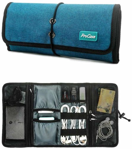 1. ProCase Travel Gear Electronics Organizer